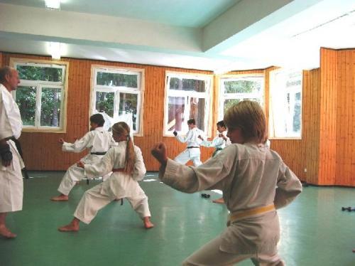 Karatefreizeit Hertlingshausen 2009 10