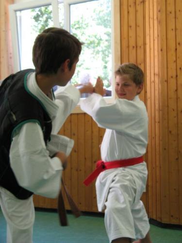 Karatefreizeit Hertlingshausen 2012 13