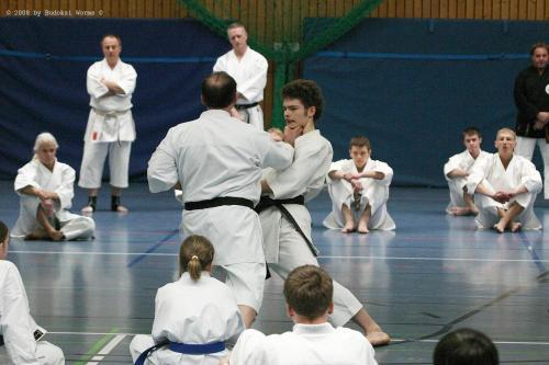 Lehrgang mit Sensei Pino Arcieri 2008 in Birkenfeld (10)
