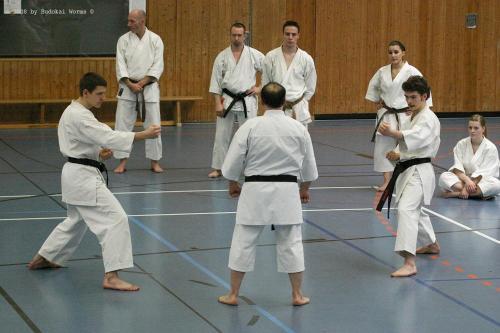 Lehrgang mit Sensei Pino Arcieri 2008 in Birkenfeld (15)