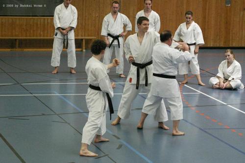 Lehrgang mit Sensei Pino Arcieri 2008 in Birkenfeld (18)