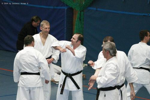 Lehrgang mit Sensei Pino Arcieri 2008 in Birkenfeld (22)
