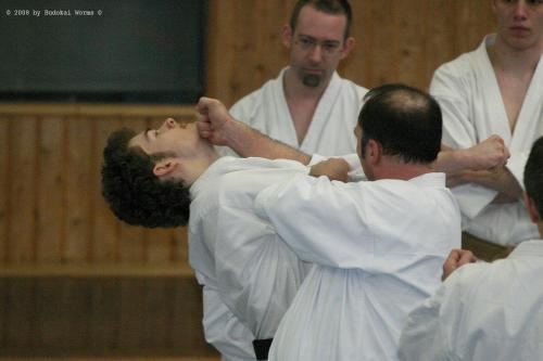 Lehrgang mit Sensei Pino Arcieri 2008 in Birkenfeld (26)