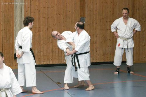 Lehrgang mit Sensei Pino Arcieri 2008 in Birkenfeld (31)