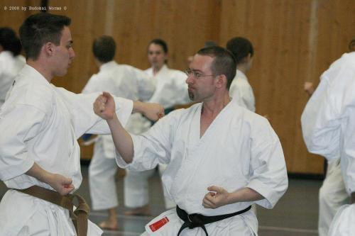 Lehrgang mit Sensei Pino Arcieri 2008 in Birkenfeld (33)