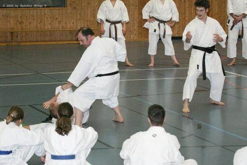 Lehrgang mit Sensei Pino Arcieri 2008 in Birkenfeld (34)