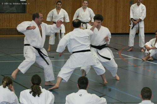 Lehrgang mit Sensei Pino Arcieri 2008 in Birkenfeld (36)
