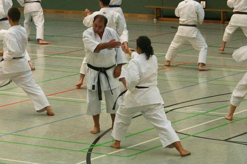 Lehrgang mit Sensei Pino Arcieri 2008 in Wiesbaden (10)