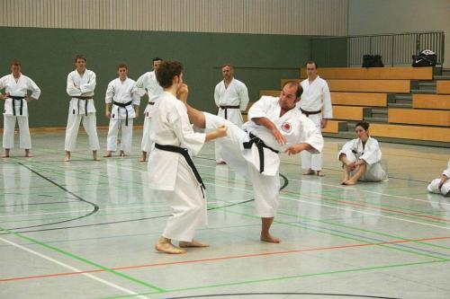 Lehrgang mit Sensei Pino Arcieri 2008 in Wiesbaden (12)