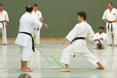 Lehrgang mit Sensei Pino Arcieri 2008 in Wiesbaden (2)