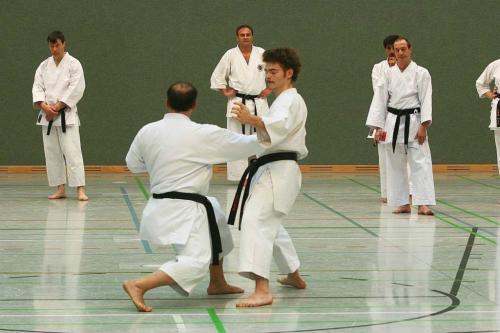 Lehrgang mit Sensei Pino Arcieri 2008 in Wiesbaden (4)