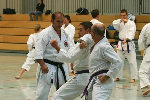 Lehrgang mit Sensei Pino Arcieri 2008 in Wiesbaden (6)