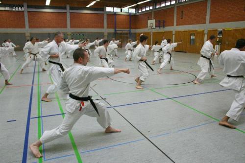 Lehrgang mit Sensei Pino Arcieri 2008 in Zweibrücken (11)