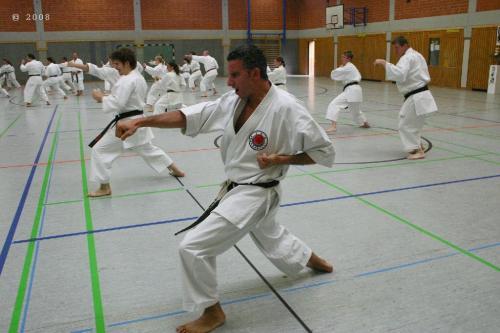 Lehrgang mit Sensei Pino Arcieri 2008 in Zweibrücken (12)