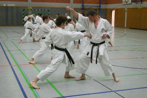 Lehrgang mit Sensei Pino Arcieri 2008 in Zweibrücken (13)