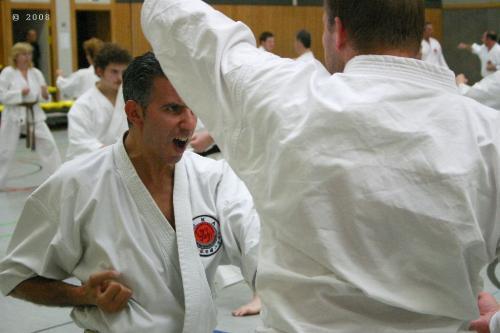 Lehrgang mit Sensei Pino Arcieri 2008 in Zweibrücken (14)