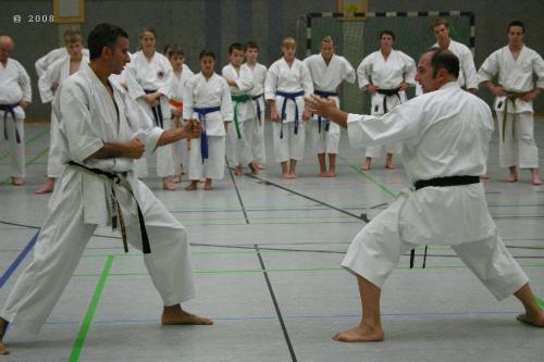 Lehrgang mit Sensei Pino Arcieri 2008 in Zweibrücken (16)