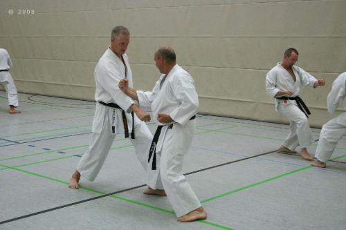 Lehrgang mit Sensei Pino Arcieri 2008 in Zweibrücken (17)