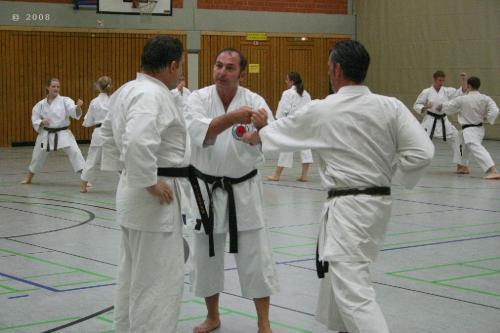 Lehrgang mit Sensei Pino Arcieri 2008 in Zweibrücken (18)