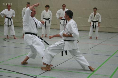 Lehrgang mit Sensei Pino Arcieri 2008 in Zweibrücken (19)