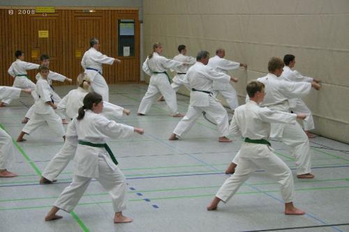Lehrgang mit Sensei Pino Arcieri 2008 in Zweibrücken (2)