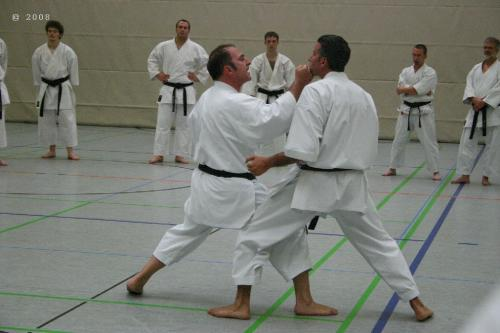 Lehrgang mit Sensei Pino Arcieri 2008 in Zweibrücken (20)