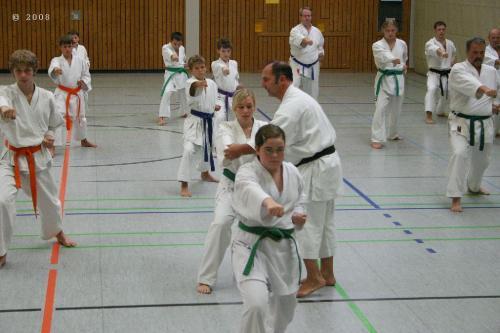 Lehrgang mit Sensei Pino Arcieri 2008 in Zweibrücken (4)