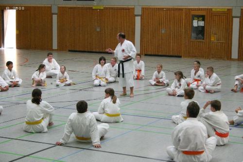 Lehrgang mit Sensei Pino Arcieri 2008 in Zweibrücken (5)