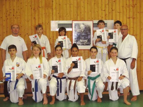 Karatefreizeit Hertlingshausen 2013