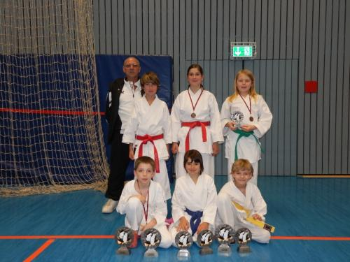 Ilvesheimer Kinder-Karate-Tag 2012