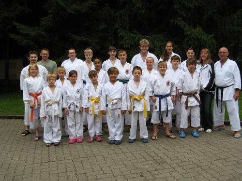Karatefreizeit Hertlingshausen 2011