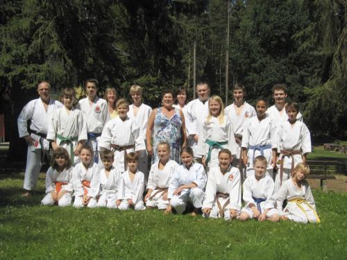 Karatefreizeit Hertlingshausen 2012
