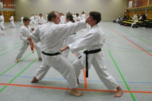 Lehrgang mit Sensei Pino Arcieri 2008 in Zweibrücken