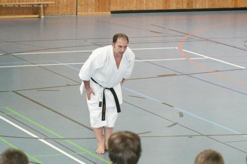 Lehrgang mit Sensei Pino Arcieri 2008 in Birkenfeld
